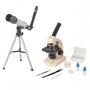 Microsc. Kit - Monocular 70 ~ 400x + Telescópio Astronômico