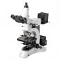 Microsc. Metalografico / Biológico Trino 50~1000x, Ótica Infinita, Obj.Pl, Ilum.transm.e reflet. 1000X seco