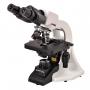 Microscopio Biológico Binocular Óptica Infinita, Aumento 40x até 1000x, Objetiva Planacromática E Iluminação Led 3w