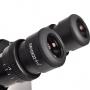 Microscópio Biológico Trinocular Invertido com Aumento de 40x até 400x Ou 40x até 600x (opcional), Objetiva Planacromáti