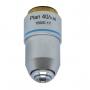 Objetiva Plana-acromática Finita 40x para Microscópio - Seca - Padrão de Rosca 20mm