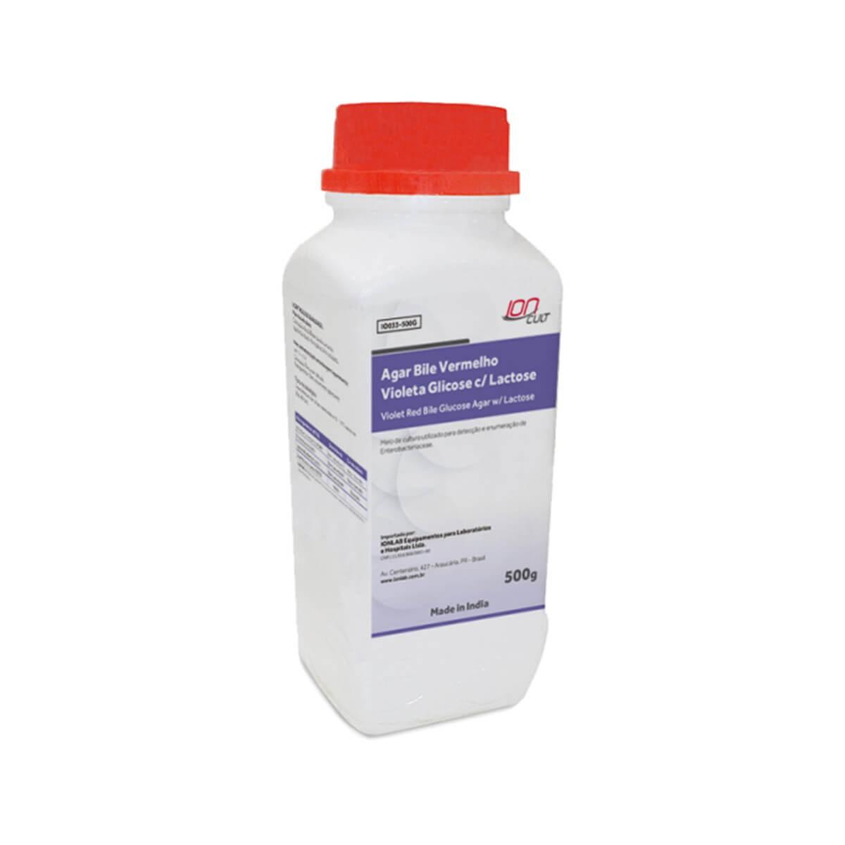 Agar Bile Vermelho Violeta Glicose c/ Lactose 500grs