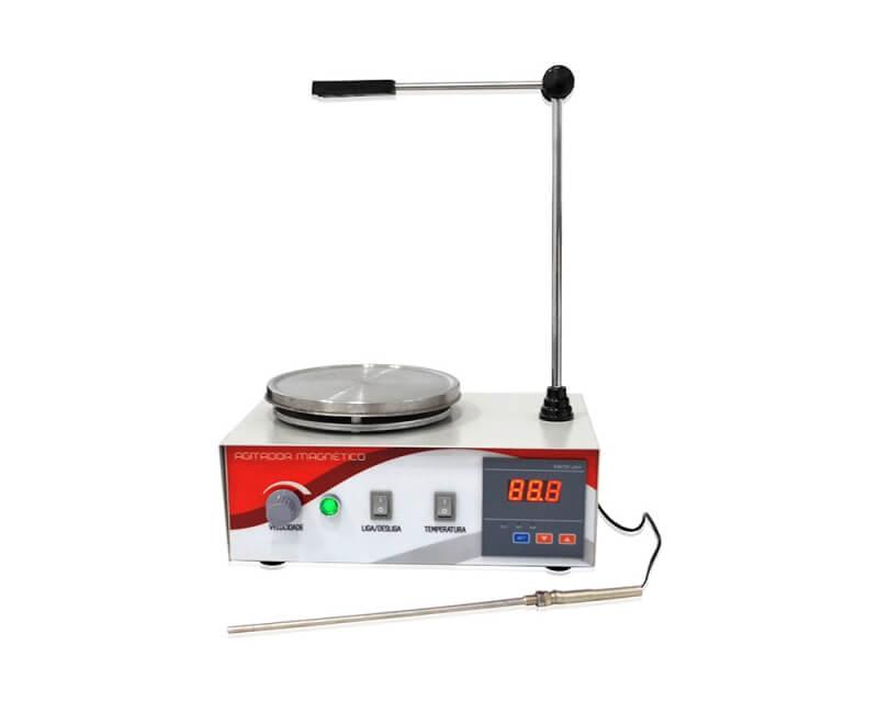 Agitador Magnético Digital até 4 Litros