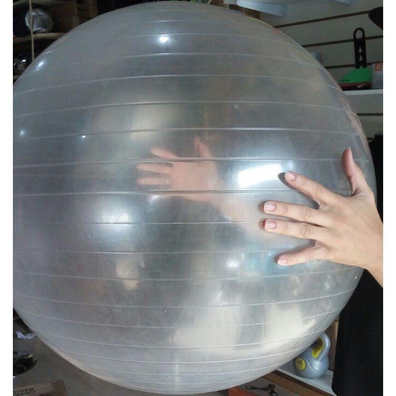 Bola Suíça Transparente - 65cm