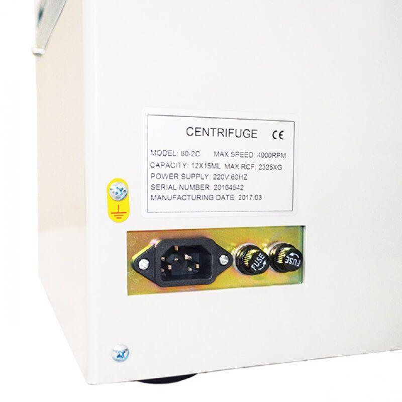 Centrífuga Digital até 4000rpm Prp-prf, 12x15ml - Motor Indução