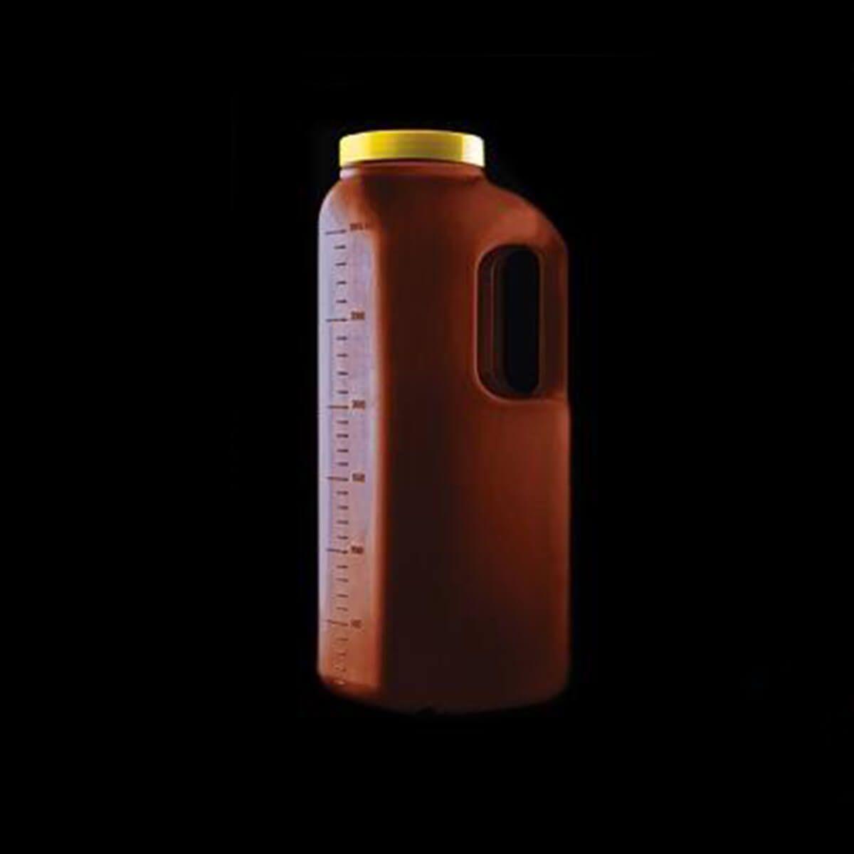 Coletor de Urina 24 Horas a Granel 3 Litros com Alça Caixa 32 Unidades