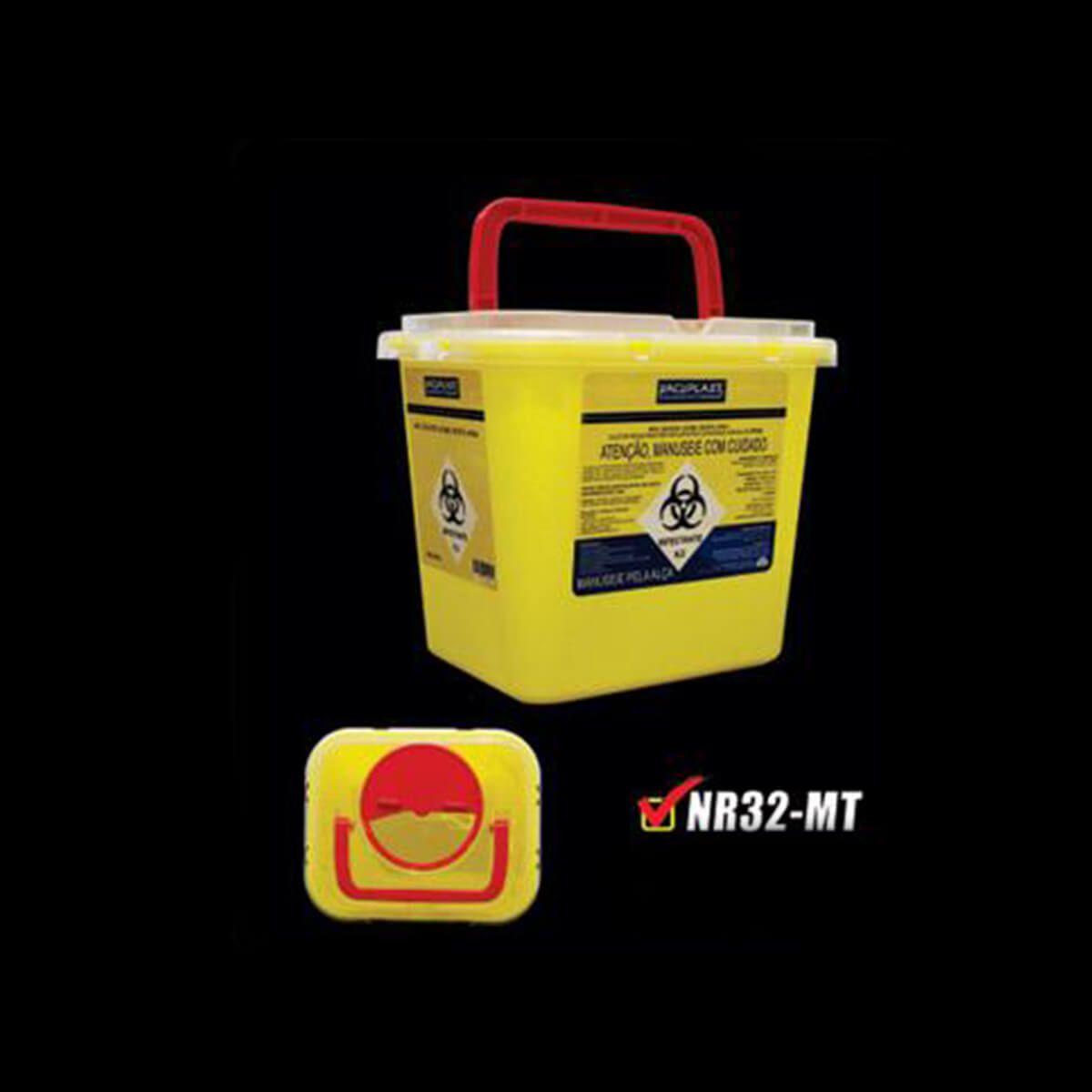 Coletor para Material Perfurocortante Rigido Nr-32