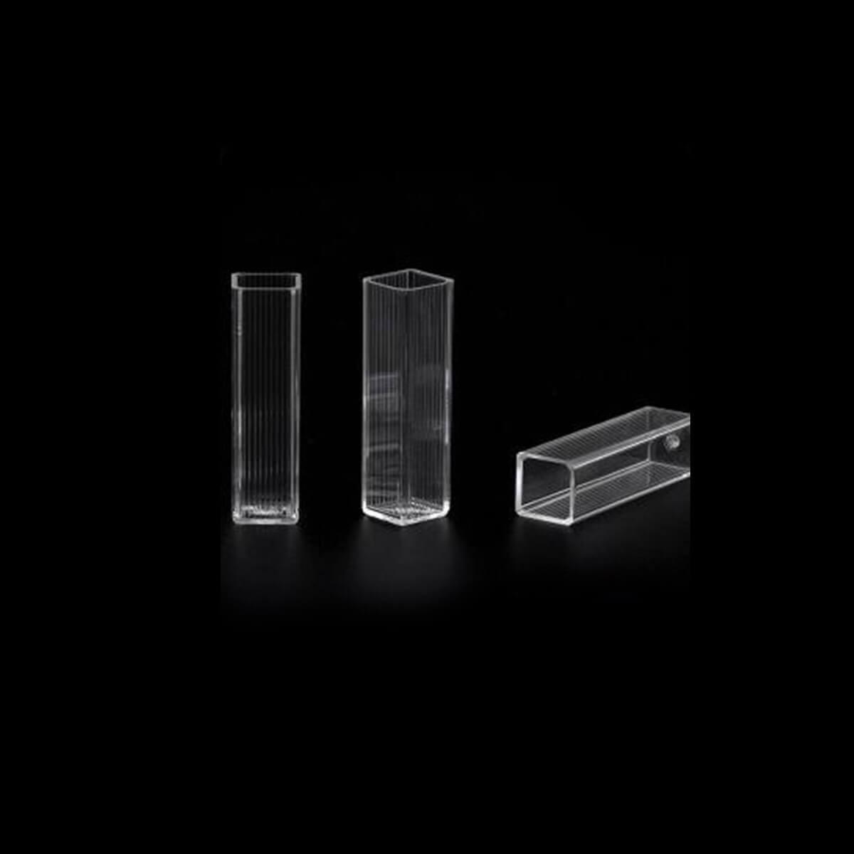 Cubeta para Espectrofotômetro em Poliestireno 100 Unidades