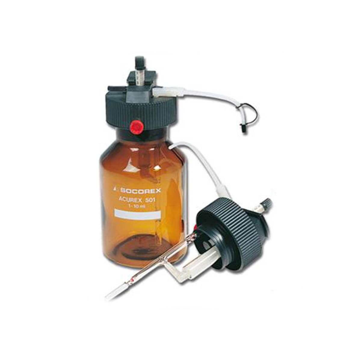 Dosador com Frasco 1-10ml - Socorex