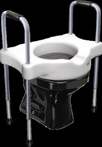 Elevador de Assento Sanitário c/ Alças Reguláveis - Sit V