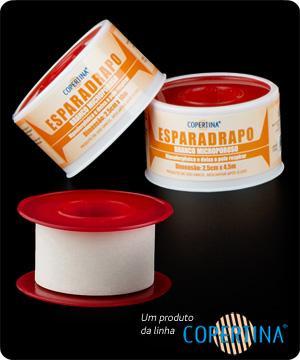 Esparadrapo Hipoalergênico E Microporoso Branco Caixa Master