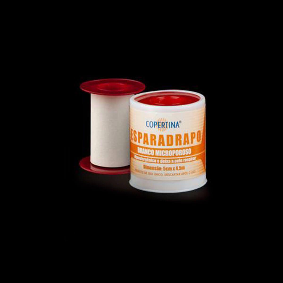 Esparadrapo Hipoalergênico E Microporoso Branco Unidade
