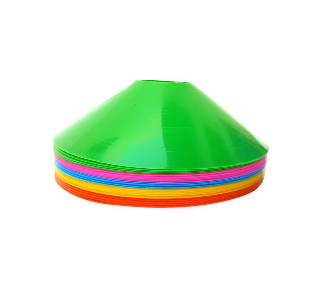 Kit 10 Cone Tipo Chapéu Chinês Half Cone Colorido