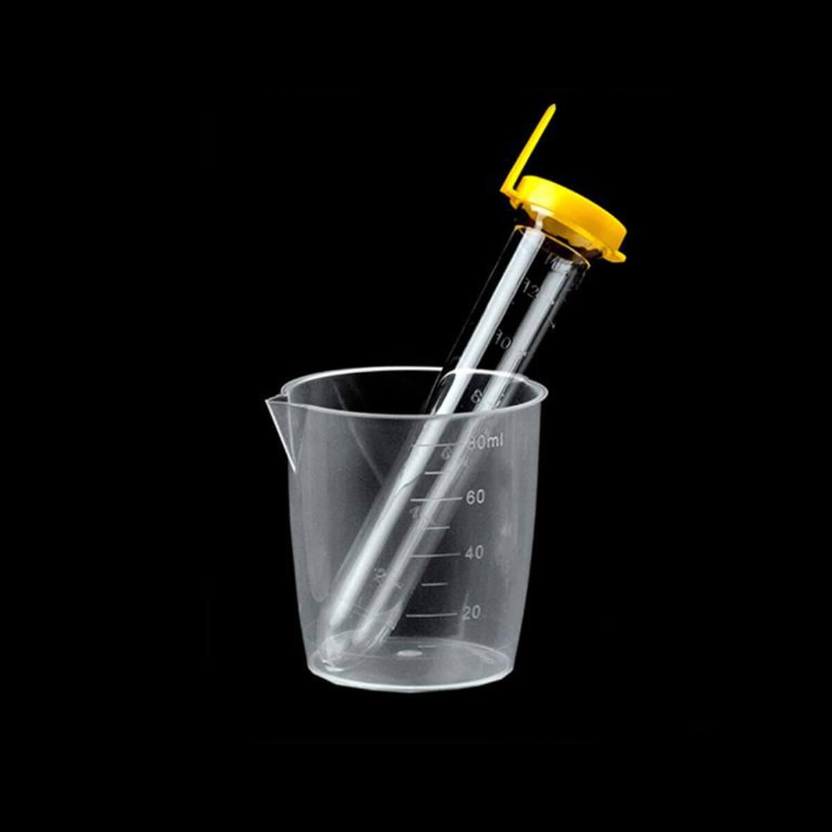 Kit de Urina Tubo Ps Manual/autom. 12ml Tampa Amarela Não Estéril