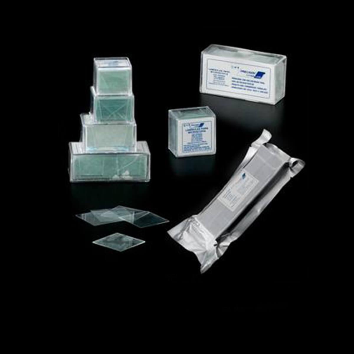 Lamínulas para Microscópio Caixa com 100 Unidades