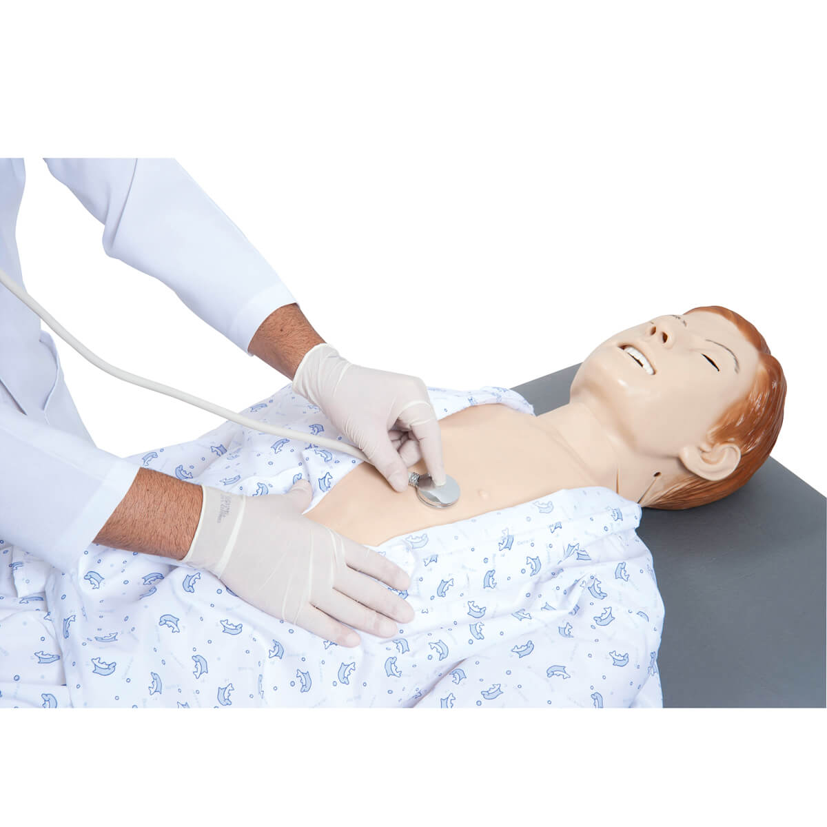Manequim Bissexual Simulador para Treinamento de Habilidades de Enfermagem E Acls