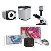 Microscópio Biológico Trinocular com Aumento 40x até 2000x + Câmera Hdmi