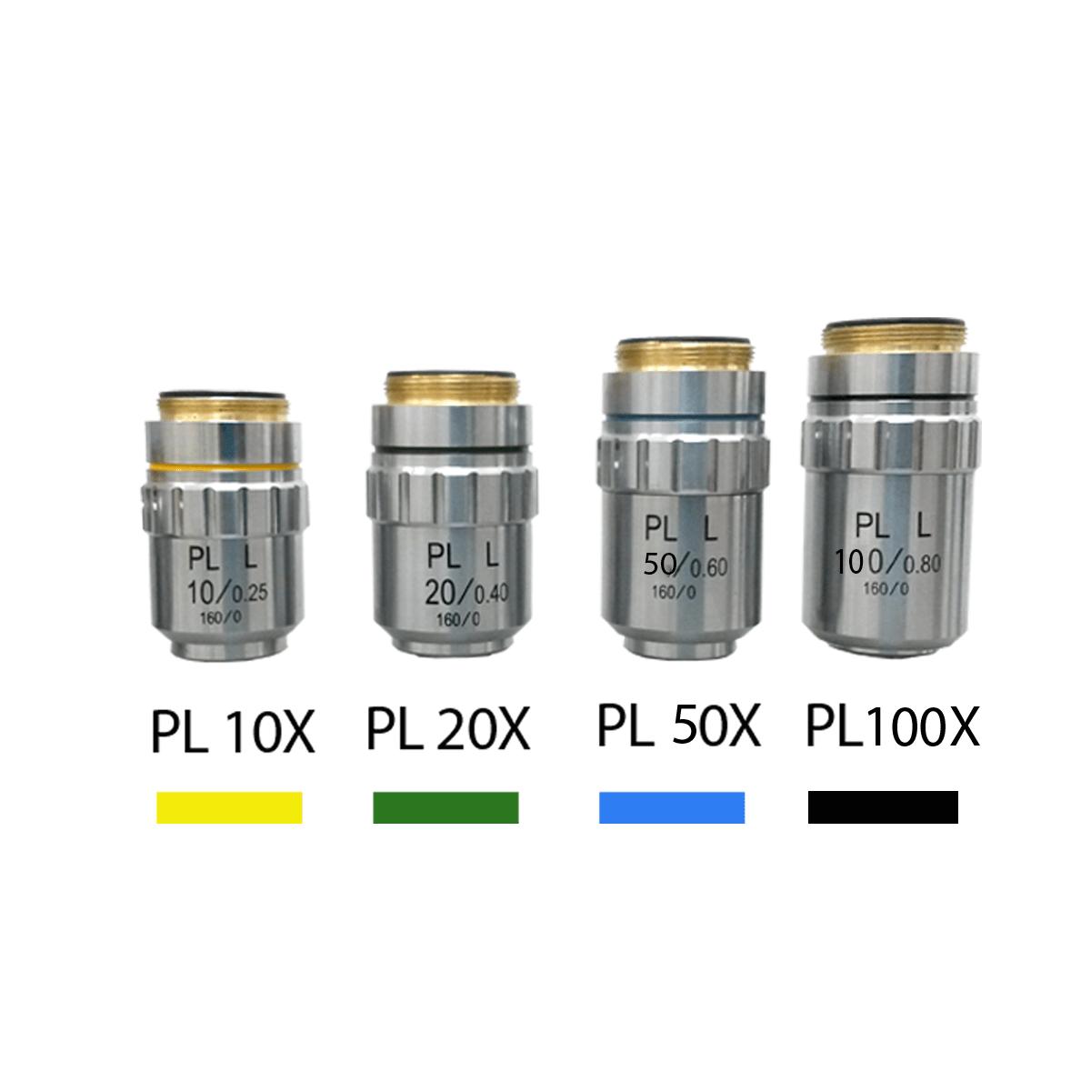 Microscópio Metalográfico Invertido Trinocular com Aumento de 100x até 1000x, Objetivas Planacromática E Iluminação 20w Halogênio