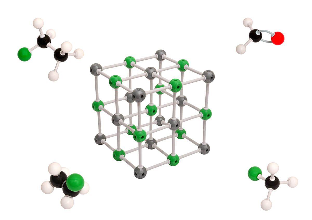 Modelo Molecular Avançado Orgânica E Inorgânica c/ 810 Peças