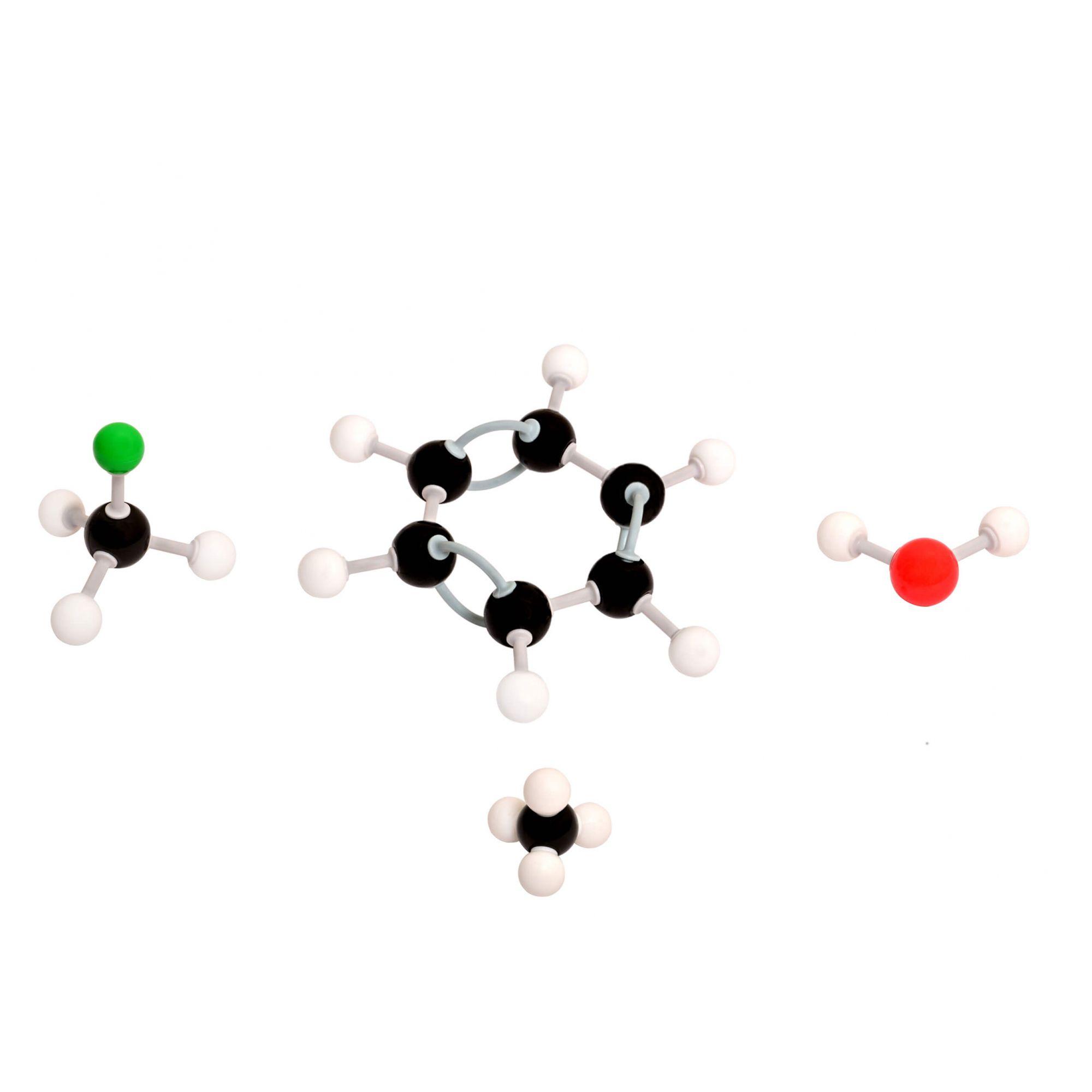 Modelo Molecular Introdutório c/ 122 Peças