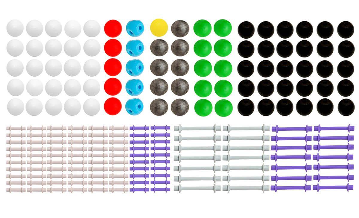 Modelo Molecular Orgânica E Inorgânica c/ 426 Peças