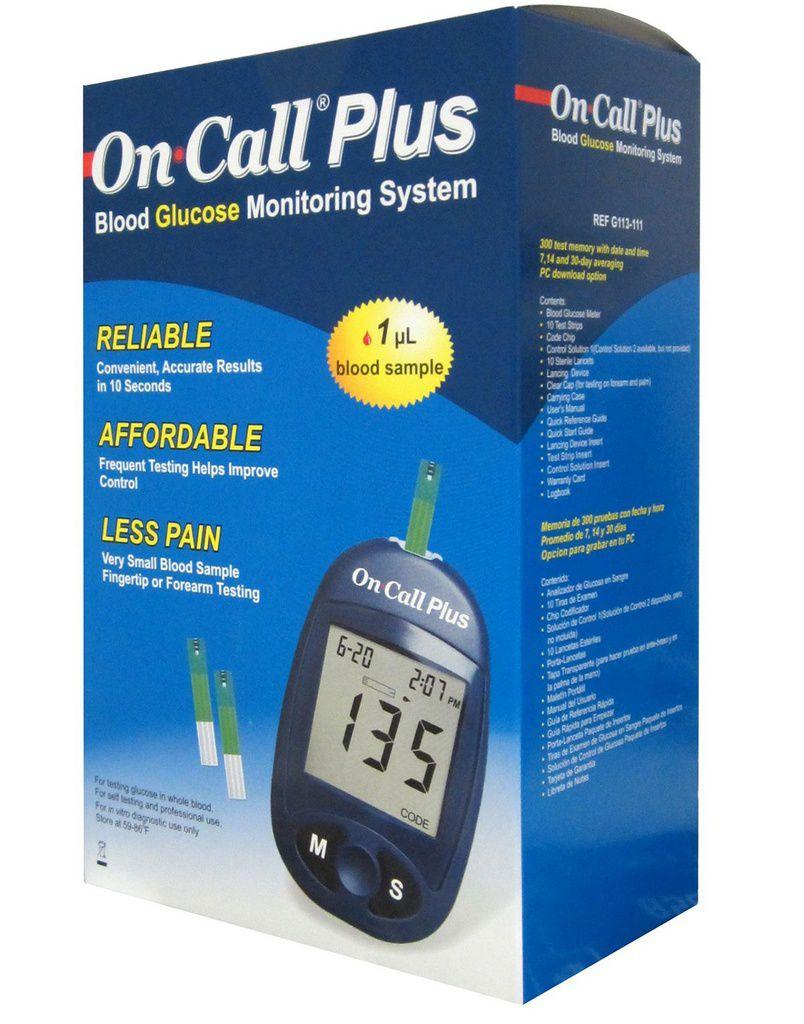 Monitor de Glicemia On Call Plus