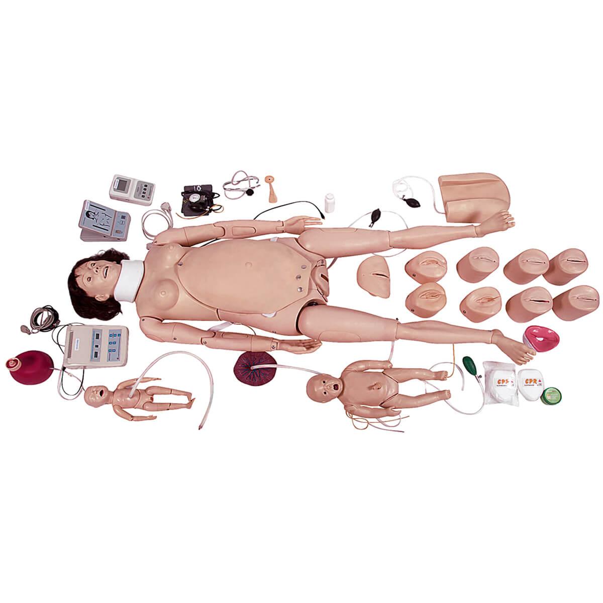 Simulador Avançado de Parturiente / Neonatal com Rcp E Suporte de Emergência