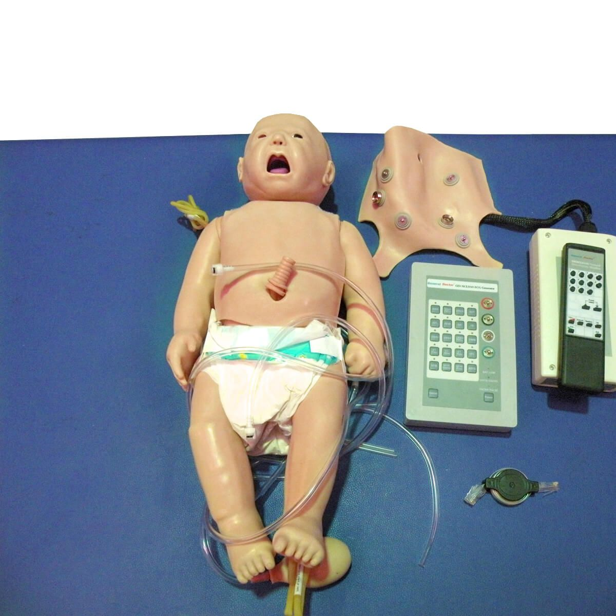 Simulador Manequim Bebê Simulador p/ Treino de Acls Neonatal