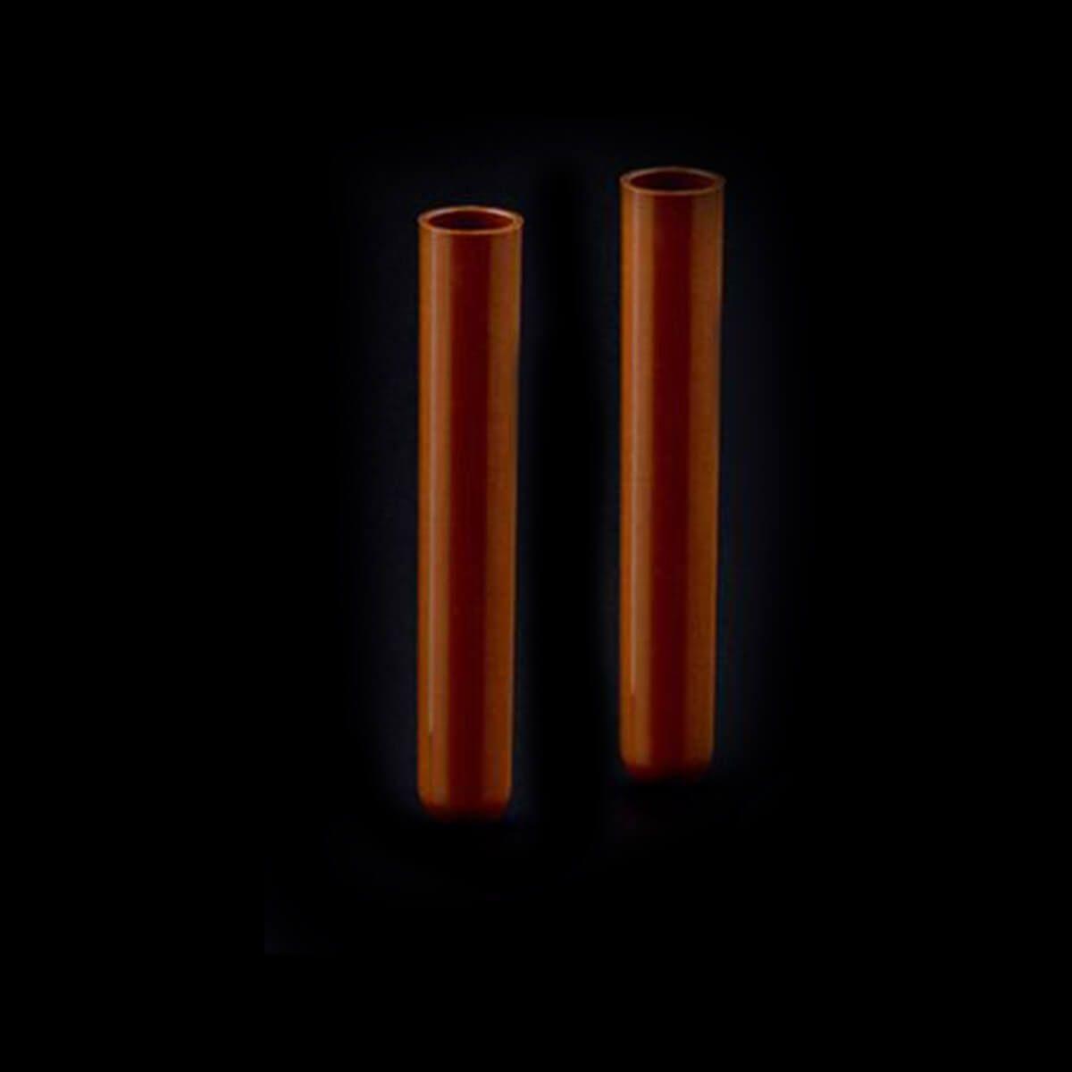 Tubo 12x75mm - 5ml Polipropileno Ambar Caixa 1000 Unidades