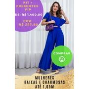 KIT PANTALONA  AZUL SOFISTICAÇÃO - BAIXAS(setembro)