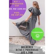 KIT PANTALONA CINZA INFLUÊNCIA POSITIVA - ALTAS(setembro)