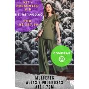 KIT PANTALONA VERDE OLIVA - ALTAS (outubro)