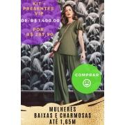 KIT PANTALONA VERDE OLIVA - BAIXAS  (outubro)