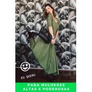 PANTALONA VERDE OLIVA - ALTAS