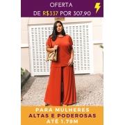 PANTALONA VERMELHO CORAGEM - ALTAS