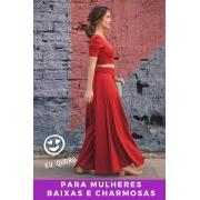 PANTALONA VERMELHO CORAGEM - BAIXAS