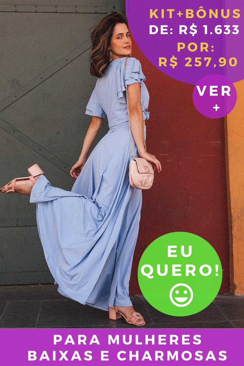 KIT PANTALONA AZUL SUPERAÇÃO - BAIXAS