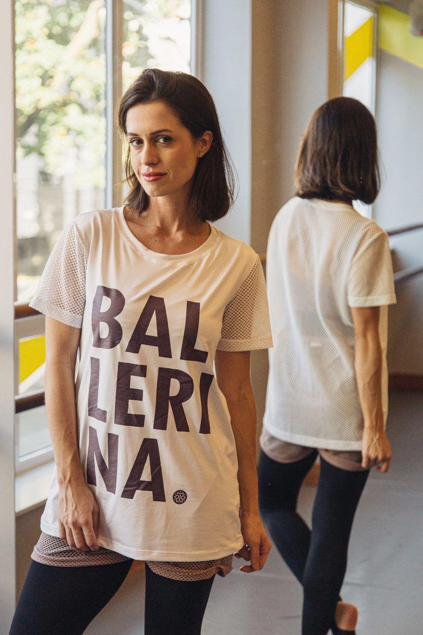 T-SHIRT ESPORTIVA BALLERINA