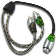 Cabo Rca Y Macho Technoise Series 700 Blindado - Reforçado 4mm