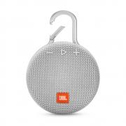 Caixa de Som Portátil JBL Clip 3 White Bluetooth - JBL CLIP 3 WHT (BRANCO)