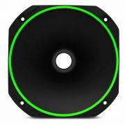 Corneta curta de rosca Fiamon Bi color Fluorescente Verde