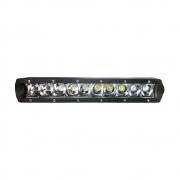 FAROL DE MILHA BARRA DE LED CREE RAY X LTB2150 C/ 10 LEDS 50W C/ SUPORTE / 12~30V (285X80X40MM) -UNITÁRIO