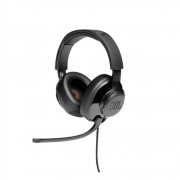 FONE DE OUVIDO HEADSET GAMER JBL QUANTUM 200 BLACK (C/ MICROFONE FLIP-UP) - JBLQUANTUM200BLK