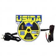Carregador Spark Usina Charger Nauticline 12a, Bivolt Automático Com Medidor De Bateria