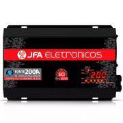 Fonte Digital Jfa 200a Monovolt 220V Voltímetro e Carregador