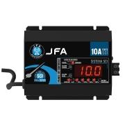 Fonte Digital Slim Jfa 10a Sci Bivolt Voltímetro- C/ Display - FONTE JFA 10A SCI
