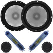 "Kit 2 Vias Bravox 6"" Diamond CS60D - 140W RMS o Par"