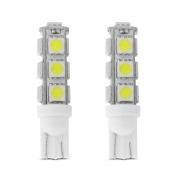 Kit Lâmpadas Pingo T10 W5W TechOne - 13 LEDs - Super Branca - 0270 TORRE 13 LEDS