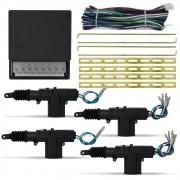 Kit Trava Elétrica Universal 4 Portas Espaguetada Isoflex