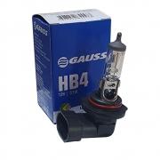 Lampada Automotiva Gauss HB4 12V 51W - Halogena Luz Original - GAUSS GL35 9006 GL35HB4